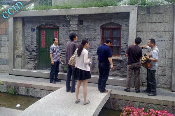 """""""南宋御街""""中山路步行街雕塑工程验收工作"""